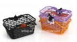 Halloween Plastic Pumpkin Baskets (HW010)