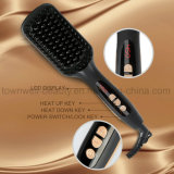 Whesale Professional Ceramic Iron Electric Straightening Hair Comb
