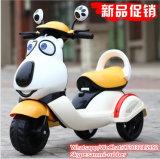Plastic Kids Electric Motorcycle, 6V Ride on Toy Children Motorbikes 12V