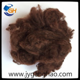 Polyester Staple Fiber in Dark Coffee