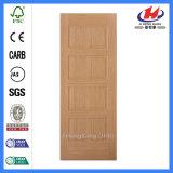 HDF Mould Solid Beech Veneer Door Skin (JHK-011)