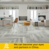 Grey Color Wooden Porcelain Rustic Tile with Molded Surfaces