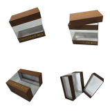 Small Paper Chocolate Packing Box with Clear PVC Window