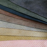 New Design Braid Perforated PU Synthetic Leather for Bags (HS-XQ14)