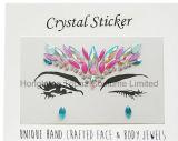Hongkong Topaz Skin Safe Party Eye Stickers White Studs Body Jewels Face Tatto Stickers (E15)