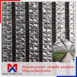 Length 10m~100m Outside Aluminum Shade Net Manufacturer