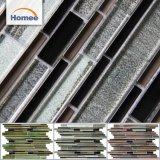 Top Sale Low Price Multi-Function Indoor Strip Glass Mosaic Tile