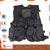 Black Molle Police Tactical Vests