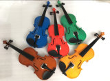 Best Musical Instruments Violin Factory Color Violin for Sale