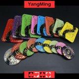 Crystal Acrylic / Poker Chips Mesh Bronzing Silk Screen Casino Chips (YM -CP022/CP023)
