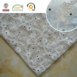 Lace Product Beautiful Flower Korean Textile Lace Fabric for Wedding Dress