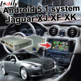 Android 5.1 4.4 GPS Navigation Box for Jaguar Xf Xk Xj 06-11 etc Video Interface with Gvif Cast Screen Youtube Waze