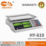 Digital Weighing Price Scale with Stainless Steel Keyboard 30kg