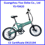 Foldable 20 Inch Electric Folding E Bicycle