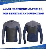 2mm Neoprene Men Beach Wear Diving Jacket Surfing Suit