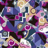 Digital Printing Fashion Swimwear Fabric Asq-023