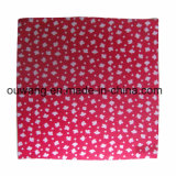 Latest Fashion Custom Printing Promotion Maple Leaves Square Scarf
