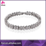 Zirconia Style Gold Plated Custom Latest Style Fashion Bracelets 2016