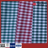 Yarn Dyed Checks of 100% Polyester Shirting Fabric (HFYD)