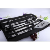 High Grade Quality Perfect Set of 6 Pieces Stainless Steel BBQ Tools