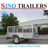750kg Single Axle Trailers with Removable Cages