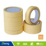 80 Degree Rubber Base Masking Crepe Paper Tape