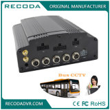 4G GPS WiFi 4CH Dual SD+ HDD Mobile DVR with 1080P Security Recording for Vehicle Bus Car Truck