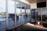 Australia Standard As2047 Aluminium 12mm Tempered Glass Door Price