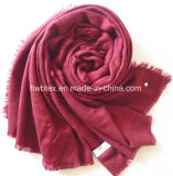 Traditional Solid Color - Cashmere Imitation- Acrylic Shawl / Scarf (HWBAC068)