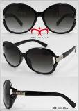Metal Decoration Ladies Sunglasses (WSP604573)