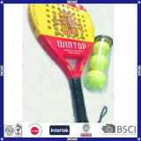 Carbon Composite and Fiberglass with Soft EVA Material Paddle Racket