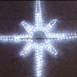 Eight Pointed LED Star Christmas Lights