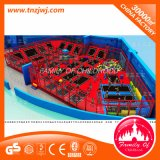 Toddler Trampoline Park Playground Jumping Bed with Sponge