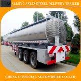 Favourable Price Cheng Li Fuel Tank Semi Trailer of 2/3/4 Axles