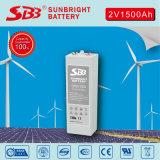 Sealed Lead Acid Opzv 2V1500ah for Solar Power System