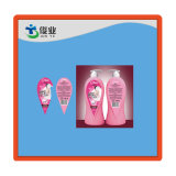 Plastic Adhesive Sticker for Cosmetic Bottles