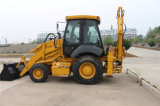 Building Machinery 4X4 Drive New Backhoe Loader