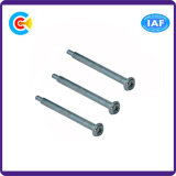 Carbon Steel 4.8/8.8/10.9 Customized Cross/Phillips Pan Head Screws with Pin