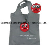 Foldable Shopper Bag, Mustache Style, Promotion, Lightweight, Tote Bag, Grocery Bags and Handy, Gifts, Reusable, Decoration & Accessories