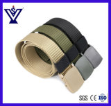 Outdoor Protection Movement Police Tactical Canvas Belt (SYSG-1898)