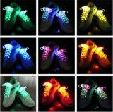 Multi-Color Neon LED Shoe Laces Strap Glow Stick Light Shoelaces