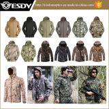 Tactical Men′s Winter Outdoor Hoodie Waterproof Military Jacket
