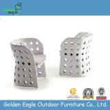 PE Rattan Aluminum Outdoor Used Cheap Chair (GP0004)