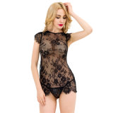 Wholesale in-Stock Women Lace Black Newest Sexy Lingerie From China