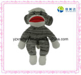 Knitted Plush Monkey Toy (XMD-0120C)