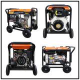 Power Diesel Generator Sets Dg6le (5KW Big Wheels)