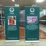 """Aluminum Trade Show Retractable Banner Stand 33"""" X 79"""""""