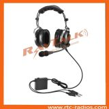 Anr Active General Dual Earmuff Aviation Pilot Headset for Flight