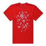 2014 New Fashion Cotton Women Red Short Sleeve T Shirt