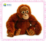 Long Plush Brown Orangutan Stuffed Forest Animals Toy